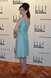 SOPHIE ELLIS-BEXTOR at the 17th Elle Style Awards 2014 in association with Warehouse held at One Embankment, 8 Victoria Embankment, London on 18th February 2014.