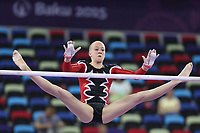 Turn<br /> Foto: Panoramic/Digitalsport<br /> NORWAY ONLY<br /> <br /> Martine Skregelid, NOR, during qualification and team final of 2015 European Games in Baku; 14/06/2015