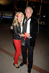 TALLULAH RENDALL and her father MR JOHN RENDALL at the opening of the new Gaucho restaurant at the O2 Arena, London on 15th May 2008.<br />