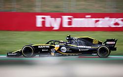 May 13, 2018 - Barcelona, Spain - Carlos Sainz, team Renault, during the GP Spain F1, on 13th May 2018 in Barcelona, Spain. (Credit Image: © Joan Valls/NurPhoto via ZUMA Press)