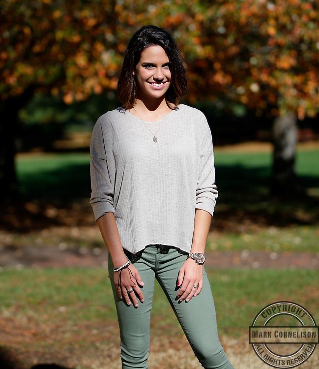 Katie Karl  senior photos  on Tuesday November 3, 2015 in Lexington, KY. Photo by Mark Cornelison