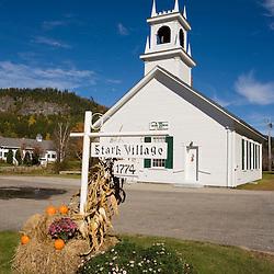 Downtown Stark, New Hampshire.  Stark Union Church.
