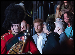 October 1, 2017 - Toronto, Canada - Image licensed to i-Images Picture Agency. 30/09/2017. Toronto, Canada. Prince Harry arriving at the closing ceremony of the  Invictus Games in Toronto, Canada.  Picture by Stephen Lock / i-Images (Credit Image: © Stephen Lock/i-Images via ZUMA Press)