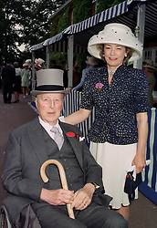 LORD & LADY HOWARD DE WALDEN at Royal Ascot on 17th June 1997. LZI 68
