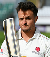 Jack Brooks of Somerset during the 2019 media day at Somerset County Cricket Club at the Cooper Associates County Ground, Taunton, United Kingdom on 2 April 2019.