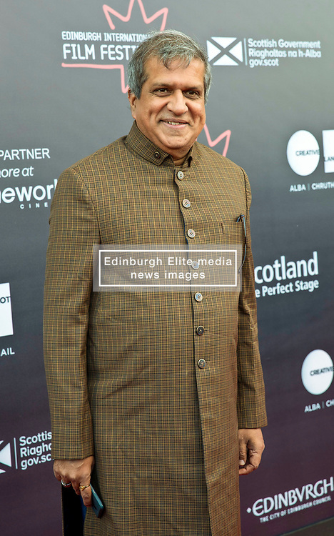 Premiere of Eaten by Lions directed by Jason Wingard at the Edinburgh International Film Festival<br /> <br /> Pictured: Darshan Jariwala