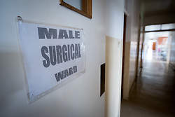 2 March 2017, Ma Mafefooane Valley, Lesotho: The Male Surgical Ward. Saint Joseph's Hospital is a district hospital in the Ma Mafefooane Valley in Lesotho. The hospital was established in 1937 and is run as a Roman Catholic non-profit institution by the Christian Health Association of Lesotho. As a district hospital, it offers comprehensive healthcare including male, female, paediatric, Tuberculosis and maternity care. It is closely linked with the neighbouring Roma College of Nursing, which runs on similar premises as part of the same institution. Drug supplies are secured to the hospital by means of a Memorandum of Understanding with the government.