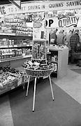 16/3/1966<br /> 3/16/1966<br /> 16 March 1966<br /> <br /> Knights Castile Soap Display Quinn Supermarket  on Fingal St.