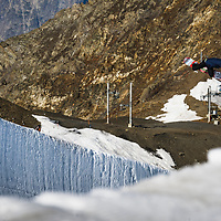 Dom Harington, Les 2 Alpes, France.