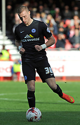 Peterborough United's Marcus Maddison - photo mandatory by-line David Purday JMP- Tel: Mobile 07966 386802 - 11/10/14 - Crawley Town v Peterbourgh United - SPORT - FOOTBALL - Sky Bet Leauge 1  - London - Checkatrade.com Stadium