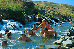 Boiling River Hot Spring, Yellowstone National Park