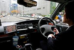 Táxi de Tókio. FOTO:Jefferson Bernardes/Preview.com