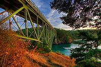 Deception Pass Bridge, Whidbey & Fidalgo Islands, Washington, USA