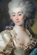 Portrait of Countess Ursula Mniszek by Dmitry Levitzky(1782) Painting on display at the State Tretyakov Gallery (GTG) an art gallery in Moscow, Russia, the foremost depository of Russian fine art in the world.