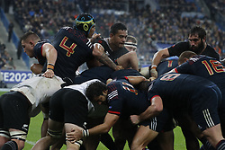 Furious maul during a rugby friendly Test match, France vs New-Zealand in Stade de France, St-Denis, France, on November 11th, 2017. France New-Zealand won 38-18. Photo by Henri Szwarc/ABACAPRESS.COM