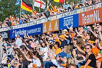 AMSTELVEEN - publiek  tijdens dames hockeywedstrijd , Spanje-Nederland  (1-7),  bij het EK hockey. Euro Hockey 2021.   COPYRIGHT KOEN SUYK