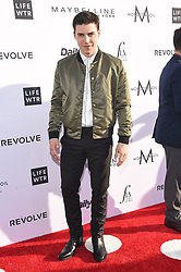 Guests arrive at the 3rd Annual Fashion LA Awards in Hollywood, California. 02 Apr 2017 Pictured: Nolan Funk. Photo credit: MEGA TheMegaAgency.com +1 888 505 6342