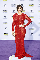 HOLLYWOOD, CA - OCTOBER 26: Angelica Celaya attends the Telemundo's Latin American Music Awards 2017 held at Dolby Theatre on October 26, 2017. Byline, credit, TV usage, web usage or linkback must read SILVEXPHOTO.COM. Failure to byline correctly will incur double the agreed fee. Tel: +1 714 504 6870.