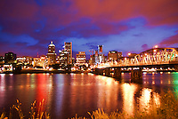 Portland Skyline @ Sunset