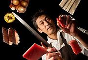 Chef Atsushi Yokoyama of Hana re Sushi in Costa Mesa has been named 2017 Chef of the Year.