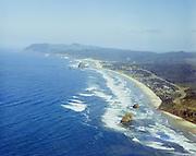 """Oregon Coast aerials September 1, 1968"" Cannon Beach"