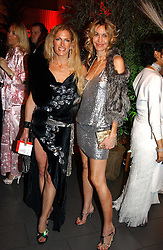 Left to right, LAURA COMFORT and MELISSA ODABASH at Andy & Patti Wong's Chinese New Year party to celebrate the year of the Rooster held at the Great Eastern Hotel, Liverpool Street, London on 29th January 2005.  Guests were invited to dress in 1920's Shanghai fashion.<br /><br />NON EXCLUSIVE - WORLD RIGHTS
