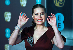 Amy Adams on the red carpet ahead of the 2019 British Academy Film Awards at the Royal Albert Hall in London, England on 10th Feburary 2019. ©Ben Booth/Edinburgh Elite media