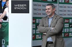 25.09.2011, Weserstadion, Bremen, GER, 1.FBL, Werder Bremen vs Hertha BSC, im Bild Klaus Allofs (Geschaeftsfuehrer Profifussball Werder Bremen)..// during the match Werder Bremen vs Hertha BSC on 2011/09/25, Weserstadion, Bremen, Germany..EXPA Pictures © 2011, PhotoCredit: EXPA/ nph/  Frisch       ****** out of GER / CRO  / BEL ******