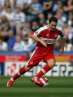 Photo: Lee Earle.<br /> Reading v Middlesbrough. The Barclays Premiership. 19/08/2006. Middlesbrough winger Stewart Downing.