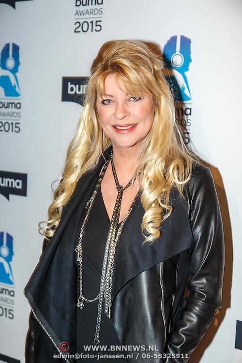 NLD/Hilversum/20150217 - Inloop Buma Awards 2015, Manuela Kemp