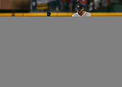 July 28, 2018 - Houston, TX, U.S. - HOUSTON, TX - JULY 28:  Texas Rangers second baseman Rougned Odor (12) gets to second base on a fielding error in the top of the second inning during the baseball game between the Texas Rangers and Houston Astros on July 28, 2018 at Minute Maid Park in Houston, Texas.  (Photo by Leslie Plaza Johnson/Icon Sportswire) (Credit Image: © Leslie Plaza Johnson/Icon SMI via ZUMA Press)