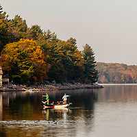 Beautiful fall colors in Devils Lake  State Park near Merrimac, Wisconsin Photo by Jim Prisching