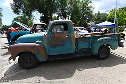 There was a car show in addition to the custom bike show at the Run to Raton. Raton, NM. USA. Saturday July 21, 2018. Photography ©2018 Michael Lichter.