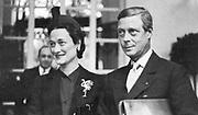 Duke and Duchess of Windsor circa 1938
