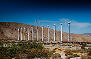 Windfarms on Highway 10 near Palm Springs