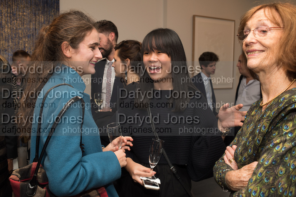 OPHELIE PREVESIANOS; DESEREE TEE, Launch of the Dutko Gallery  the first commercial space in London dedicated to Art Deco design. 18 Davies Street , Mayfair. London. 15 October 2015