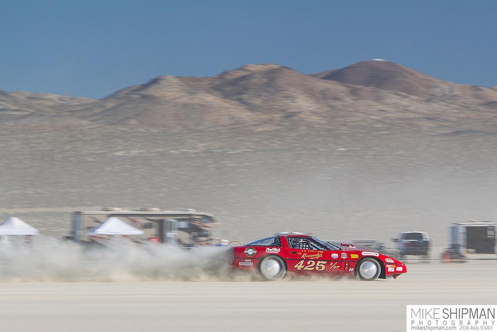 Kennedy Racing, 425, eng C, body GT, driver David Kennedy, 196.702 mph, record 198.013