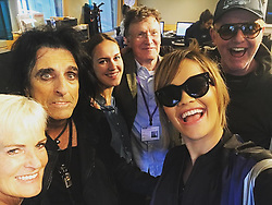 """Rita Ora releases a photo on Instagram with the following caption: """"Me and a bunch of legends. Thank you for having me @achrisevans and @bbcradio2 \u2764\ufe0f\u2b50\ufe0f\ud83d\udc4a\ud83c\udffc #YOURSONG #outnow!!!"""". Photo Credit: Instagram *** No USA Distribution *** For Editorial Use Only *** Not to be Published in Books or Photo Books ***  Please note: Fees charged by the agency are for the agency's services only, and do not, nor are they intended to, convey to the user any ownership of Copyright or License in the material. The agency does not claim any ownership including but not limited to Copyright or License in the attached material. By publishing this material you expressly agree to indemnify and to hold the agency and its directors, shareholders and employees harmless from any loss, claims, damages, demands, expenses (including legal fees), or any causes of action or allegation against the agency arising out of or connected in any way with publication of the material."""