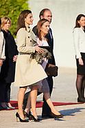 040317 Spanish Royals Depart to Japan