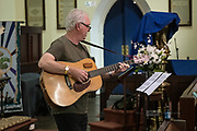 Bernard Carney performing at St Matthews Church, Guildford, part of the 2019 Guildford Songfest