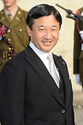Religious wedding of Grand Duke Guillaume and Princess Stephanie at the Cathedral Notre-Dame in Luxembourg <br /> <br /> On the photo:  Crown Prince Naruhito of Japan