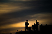 October 22, 2016: United States Grand Prix. Fans at sunset at COTA