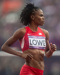 11.08.2012, Olympia Stadion, London, GBR, Olympia 2012, Hochsprung, Damen, Finale, im Bild Chaunte Lowe (USA) // Chaunte Lowe (USA) during Women's High Jump Final at the 2012 Summer Olympics at Olympic Stadium, London, United Kingdom on 2012/08/11. EXPA Pictures © 2012, PhotoCredit: EXPA/ Johann Groder