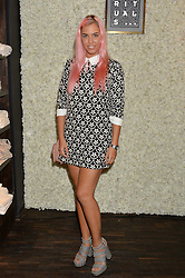 AMBER LE BON at the launch of the new Rituals store at 29 James Street, Covent Garden, London on 1st September 2016.