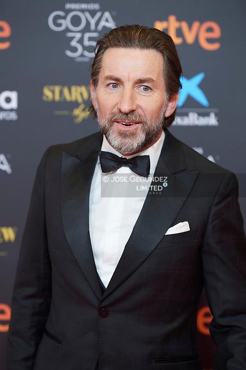 Antonio de la Torre attends 35th Goya Cinema Awards 2021 - Red Carpet at Gran Hotel Miramar on March 6, 2021 in Malaga, Spain