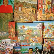 Paintings in Port-Au-Prince, Haiti