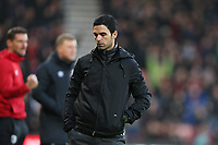 Football - 2019 / 2020 Premier League - AFC Bournemouth vs. Arsenal<br /> <br /> Arsenal Head Coach Mikel Arteta turns away as his team concede at the Vitality Stadium (Dean Court) Bournemouth <br /> <br /> COLORSPORT/SHAUN BOGGUST