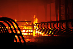 Barn Fire - Allen Township, Pa. 2-9-2015