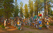Sign Post Forest<br />Watson Lake<br />Yukon<br />Canada