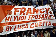 DESCRIZIONE : Pistoia Lega A 2014-2015 Giorgio Tesi Group Pistoia Banco di Sardegna Sassari<br /> GIOCATORE : Tifosi<br /> CATEGORIA : Tifosi<br /> SQUADRA : Giorgio Tesi Group Pistoia<br /> EVENTO : Campionato Lega A 2014-2015<br /> GARA : Giorgio Tesi Group Pistoia Banco di Sardegna Sassari<br /> DATA : 20/10/2014<br /> SPORT : Pallacanestro<br /> AUTORE : Agenzia Ciamillo-Castoria/GiulioCiamillo<br /> GALLERIA : Lega Basket A 2014-2015<br /> FOTONOTIZIA : Pistoia Lega A 2014-2015 Giorgio Tesi Group Pistoia Banco di Sardegna Sassari<br /> PREDEFINITA :
